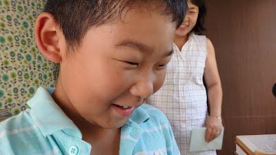 国語の学童 よみかきのもり 作文の検診 ママと書く作文 画像 イメージ 20151006
